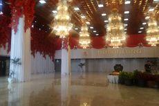 Sidang Tahunan Siap Digelar, Kompleks DPR/MPR Berbalut Merah-Putih