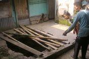 Sumur yang Ambles Juga Ditemukan di Desa Gadungan Wilayah Kediri