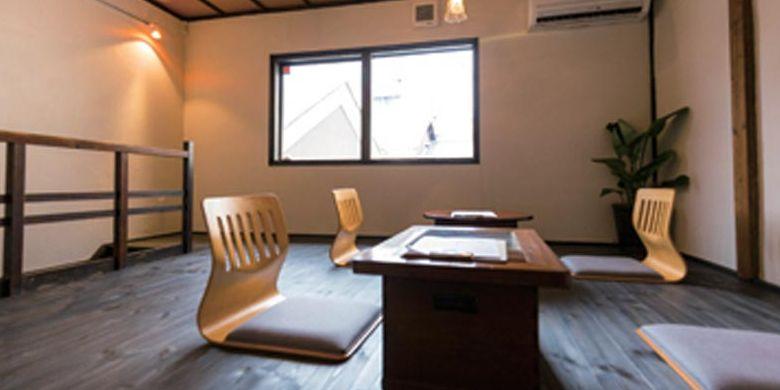 Ruang Otyobo by Engawa Cafe ini merupakan hasil renovasi dari rumah tradisional di daerah Kyoto, Jepang