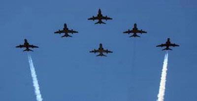 """Tim Aerobatik """"Jupiter"""" Akan Meriahkan HUT TNI AU"""