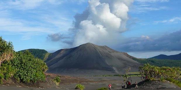 Inilah Lima Gunung Api Teraktif di Dunia  Kompas.com