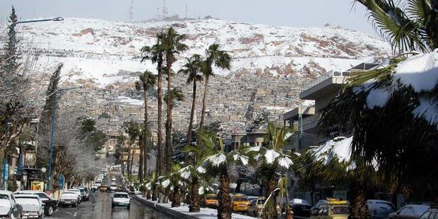 Negara Arab Yang Bersalju [ www.BlogApaAja.com ]
