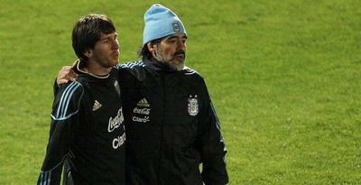 Maradona: Biarkan Messi Eksekusi Tendangan Bebas