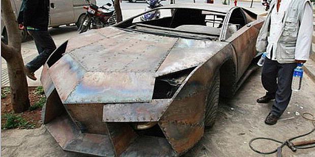 Nih, Lamborghini Terjelek di Dunia