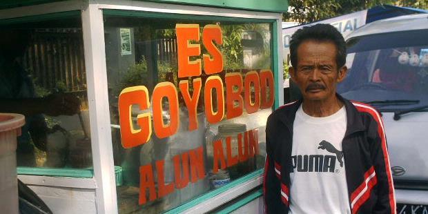 Es Goyobod Alun-alun Menu Hidangan Buka Puasa