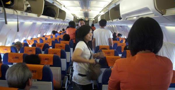Tips agar penerbangan menyenangkan