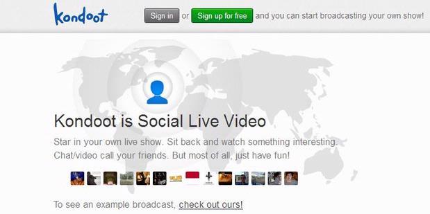 Kondoot Sediakan Jejaring Sosial Berbasis Video Live Streaming