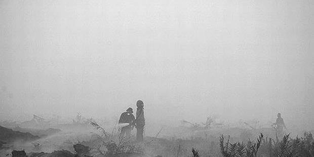 1105308620X310 Kabut Asap Semakin Terasa di Banjarmasin