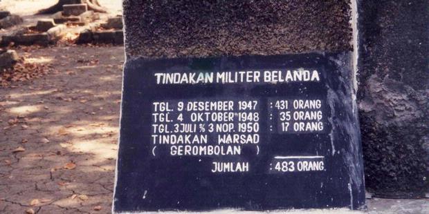 Sejarah Tragedi Pembantaian Rawagede