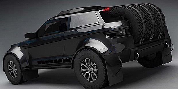 Best Custom Cars Land Rover Evoque Win Rally Dakar