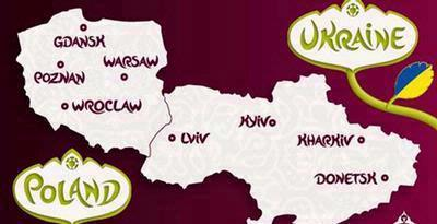 PIALA EROPA 2012 DI UKRAINA-POLANDIA