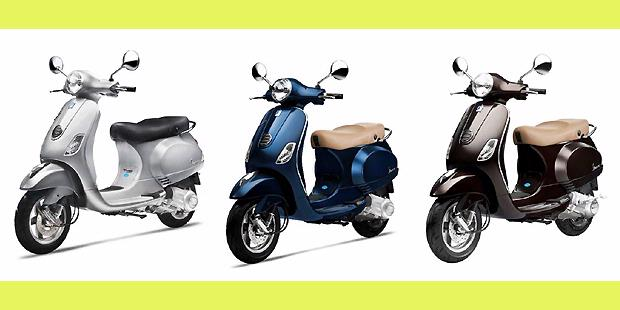 Vespa Modifikasi Warna