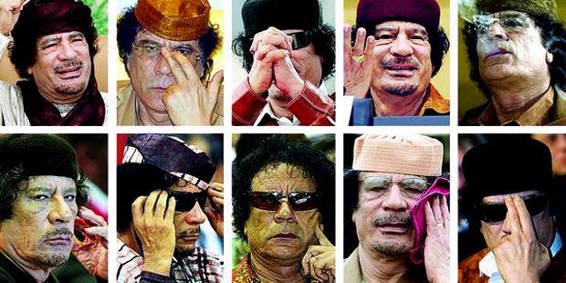 AKHIR HIDUP MANTAN PEMIMPIN LIBYA