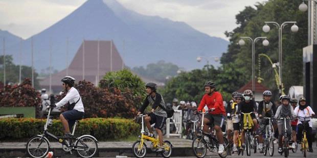 FOTO Manfaat Olahraga Bersepeda