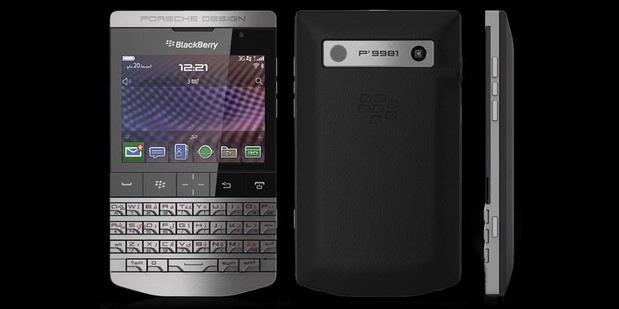 Foto Blackberry P9981 Smartphone Porsche