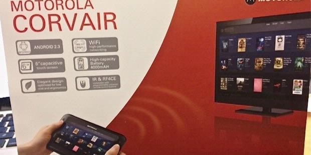 Covair Tablet Android Motorola Bisa Untuk Remote Tv Diluncurkan