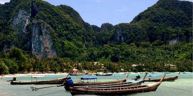 Koh Phi Phi di Thailand