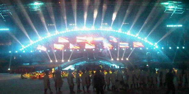 Gladi Resik Pembukaan Sea Games XXVI 2011 Palembang