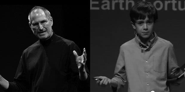 Bocah jenius pengganti Steve Jobs? Gambar