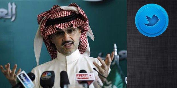 Pangeran Arab Beli Saham Twitter Rp 2,7 Triliun