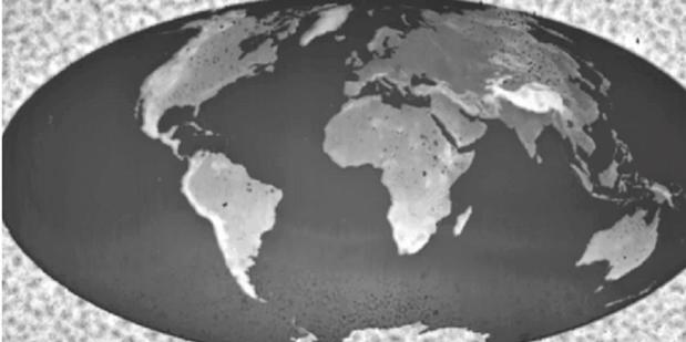 Ilmuwan IBM menciptakan Sebuah  peta Bumi terkecil diDunia