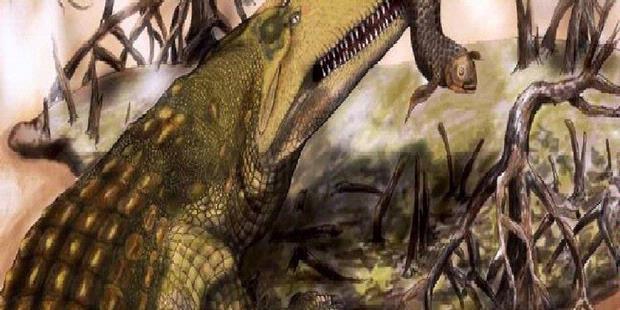 Buaya Raksasa Di Zaman Dinosaurus.alamindah121.blogspot.com