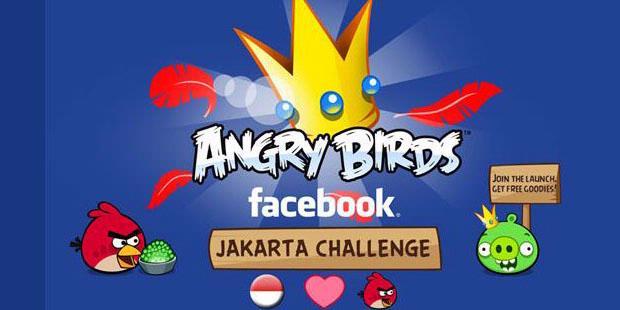Angrybird Masuk Facebook