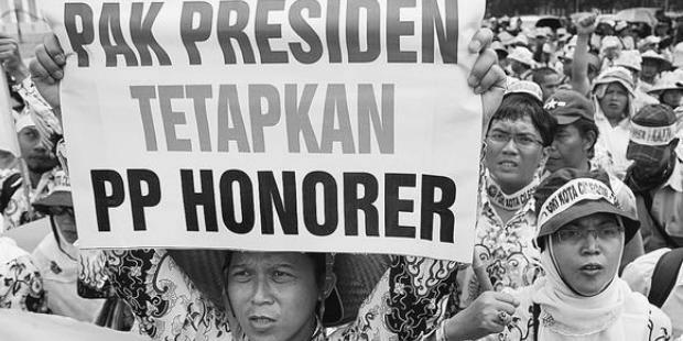 RPP Tenaga Honorer Disahkan Bulan Depan