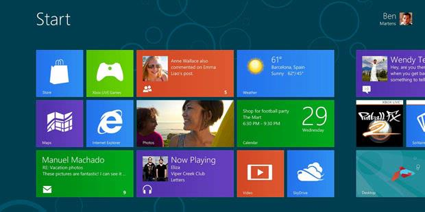 Windows 8 Consumer Preview Version