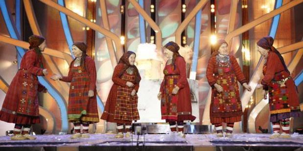 """Nenek-nenek Rusia Bentuk """"Girl Band"""""""