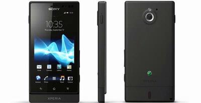 Sony Xperia Sola, Floating Touch Technology
