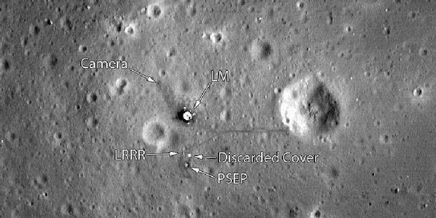 Bukti Terbaru Foto Hoax Pendaratan NASA Di Bulan