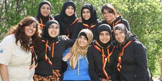 Jilbab Seragam Pramuka Inggris