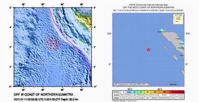 Gempa Di Aceh 8,5 SR