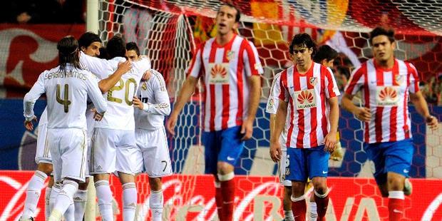 HASIL AKHIR MADRID VS ATLETICO 4-1 LIGA SPANYOL 2012 | CR7 Kembali Pangkas Atletico Dengan Hat-Trick Dan Satu Assist.