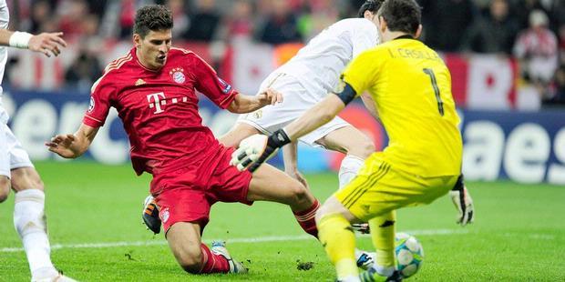 Cuplikan Gol Munchen vs Madrid