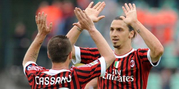 Siena vs AC Milan 1-4