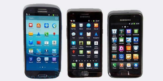 Tiga Ponsel Samsung Galaxy Akan Memakai Android Jelly Bean