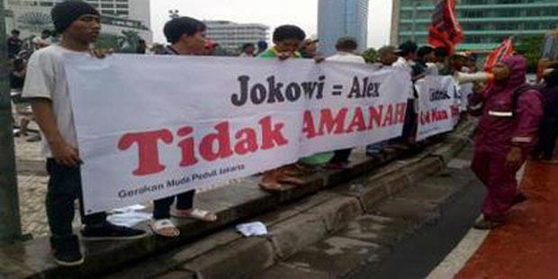 "Massa Anti Alex-Jokowi Bantah ""Black Campaign"""