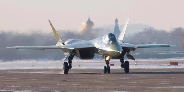 Sukhoi T-50 Akan Mulai Diterima AU Rusia Pada 2013