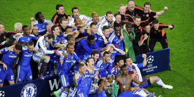 Chelsea juara di Liga Champions 2012