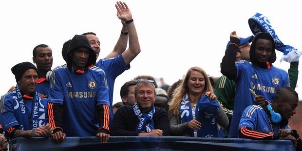Chelsea Rajai Eropa 2012