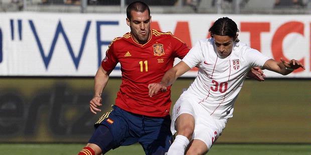 Spanyol vs Serbia Friendly Match EURO 2012