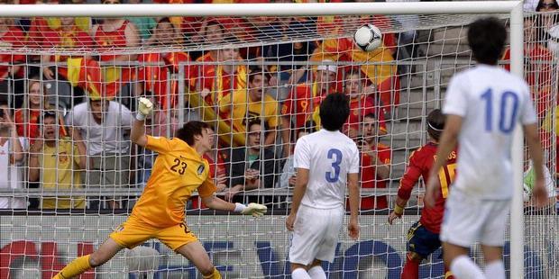 Spanyol vs Korea Selatan Friendly Match EURO 2012