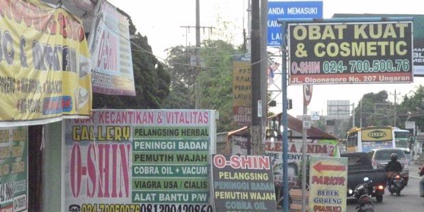 obat ilegal didominasi obat seks indo poster