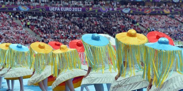 Foto Upacara Pembukaan Euro 2012 3