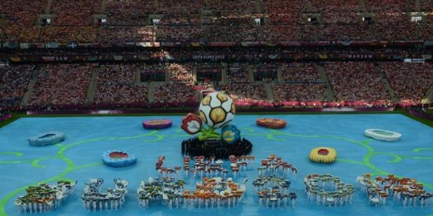 Polandia - Ukraina | Video Opening Ceremony Euro 2012