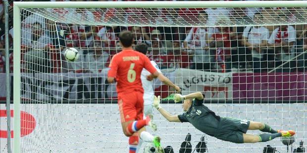 Cuplikan Video Gol Polandia vs Rusia 1-1, EURO 13 Juni 2012