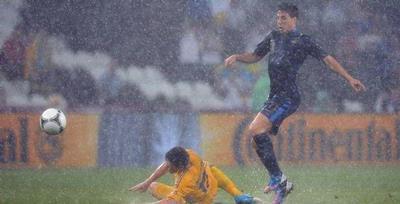 Ukraina vs Prancis 0-2 EURO 2012