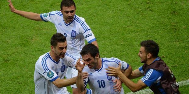 Yunani vs Rusia 17 Juni 2012